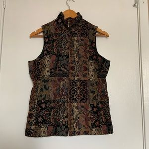 Chadwick's floral/tribal embroided design size 6